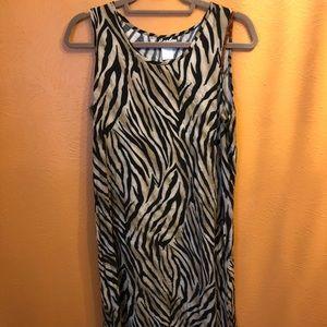 Caribou zebra dress